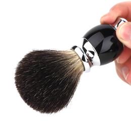 Щетка для бритья для мужчин Мужская кисточка для бритья ABS и нейлоновая щетина Различные типы кожи Модные Практические Борода кисточка для бритья Бесплатная доставка BB cheap hair type men от Поставщики волосы типа мужчины