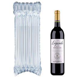 Sacs de calage en Ligne-PE Sac Air Dunnage Bag Air Rempli Air De Protection Bouteille De Vin Enveloppe Coussin D'air Gonflable Colonne Sacs D'emballage avec une pompe gratuite