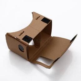 Voir google en Ligne-Google carton 3D bricolage 1.0 lunettes 3D VR boîtes réalité virtuelle visualisation google version nouveauté jouets articles 1000pcs AAA1636