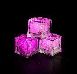luci fiabesche animali Sconti Flash di alta qualità Flash Ice Cube Flash ad attivazione d'acqua La luce del led messo in acqua Bere Flash automaticamente per le decorazioni di festa Bar Wedding Party