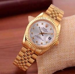 2019 de alta calidad caliente de calidad Rolex marca 40 mm para mujer para hombre Relojes de diamantes Reloj Auto fecha banda de acero principal hombres mujeres relojes 00001 desde fabricantes