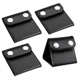 Wholesale 4 Stück Auto Sicherheitsgurt befestigt Regulierer für Erwachsene und Kinder PU Leder Seatbelt Clips Comfort Universal Auto Schulter Ansatz S Sperren