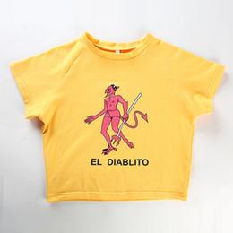 Womens grundlegendes baumwollt-shirt online-Print Kurzarm T-Shirt Frauen Sexy Cropped Tops Tees Lässige Mode Baumwolle T-Shirt Fitness Basic Streetwear Top