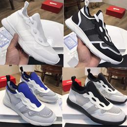 2019 caja de neo Nuevo B21 Neo Sneakers Zapatos de punto técnicos de diseñador para hombre Zapatillas blancas de mujer Zapatillas planas de malla blanca clásica con caja US5-11 rebajas caja de neo