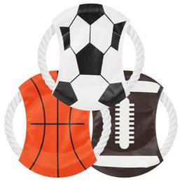 basquete mundial Desconto Pet disco voador copa do mundo de futebol de rugby de basquete do projeto do cão treinamento de agilidade do cão animais de estimação criativo obediência ferramentas h243