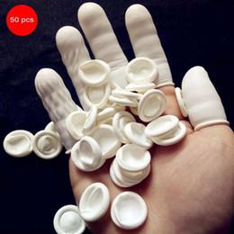 оптовая продажа соляных ламп Скидка Одноразовые латексные пальчиковые кроватки антистатические резиновые подушечки пальцев защитные антистатические пальчиковые кроватки практичный дизайн одноразовый макияж BV