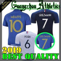 2aaf1178b France 2019 2020 Special Edition Centenary soccer jersey HENRY long sleeve  19 20 mbappe GIROUD kante maillot de foot ZIDANE football shirts