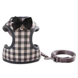 Köpek tasma halat daha Xiong Bomei Schnauzer göğüs geri Köpek zinciri toptan çan kravat yay kedi Teddy küçük nereden