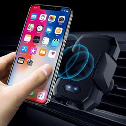 Kablosuz Otomatik Kızılötesi Şarj 360 Derece Universal Araç Hava Firar Montaj Tutucu 7.5 W Hızlı Şarj iphone GALAXY S9 MIX 2 S Braketi nereden evrensel araba montaj tutacağı şarj cihazı tedarikçiler