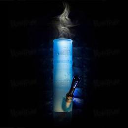 Deutschland HEIßER VERKAUF 198 MM Tragbare unzerbrechliche Wasserpfeifen bunte Silikon Rauchen Wasserpfeifen Faltbare Bong Ölbrenner Tupfen Werkzeug Rauchen Wasserpfeife cheap smoking pipes sold Versorgung