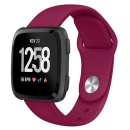 ersatz für uhren Rabatt Sportband Für Fitbit Versa Band Strap Silikon Atmungsaktiv Ersatz Sportband Bands Für Fitbit Versa Watch 61012