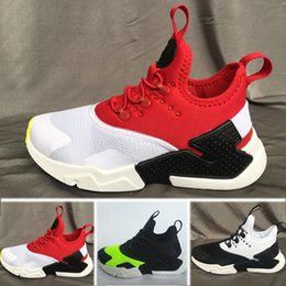 best sneakers 349c1 6561c Nike Air Huarache 2018 Air Huarache Baby Laufschuhe Kinder Sport Weiß Kinder  Huaraches huraches Designer Hurache Casual Trainer Baby Laufschuhe rabatt  ...