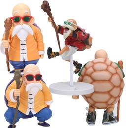 senhor anéis figuras Desconto Presentes Dragon Ball Figura Mestre Roshi Action Figure Dragon Ball Z Goku Scultures Coliseu Brinquedos Modelo Boneca Coleção MX191105