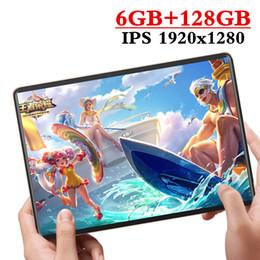 2020 Novo design de 10,1 polegadas telefone Tablet Android 9.0 8 Núcleo 6GB RAM + 128 GB ROM Dual Camera 8MP SIM Tablet PC Wifi GPS 4G LTE de Fornecedores de pacote quad