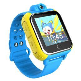 2019 gps android gprs Q730 smart watch crianças relógio de pulso gprs gprs rastreador localizador gps anti-perdida smartwatch relógio do bebê com câmera para ios android pk q90 gps android gprs barato