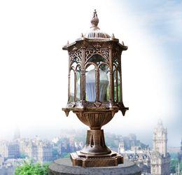 Европа свет колонны уличный столб светильник сад ступенька коридор улица сад забор пост огни ретро капитер лампы от