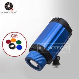 ALUMOTECH Iluminación diurna portátil 50W LED Spot + filtro para fotografía de mesa Mini Studio Equipment Accessories desde fabricantes