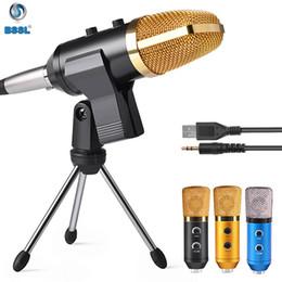 2019 alto-falantes de karaoke 3,5 milímetros fio microfone Anchor portátil de Stereo Estúdio KTV Karaoke Player alto-falante com MIC Speaker Para iPhone 7 Plus Samsung S7