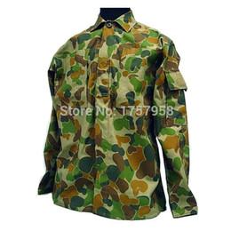 Armée camo en Ligne-US Army Woodland australien camo ACU style uniforme ensemble tactique Combat uniforme uniforme pour équipement tactique