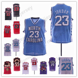 10ac83f7ea56 Chinese NCAA 23 Michael North Carolina Tar Heels Jersey Raptors Vince 15  Carter Atlanta  55