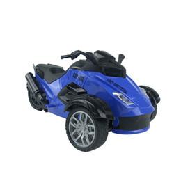Carros de grama on-line-Atacado Recém 1:14 Controle Remoto Motocicletas RC Com Luzes Off-road Praia Grama Carros de Corrida Brinquedos Para Crianças Ciclos de Motor