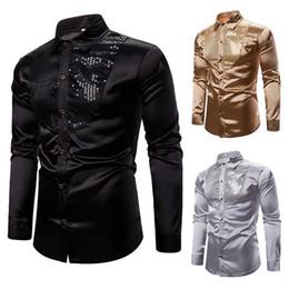 Manteau de Clubwear paillet/é de Chanteur de Paillettes de Paillettes dhommes Costume de Veste