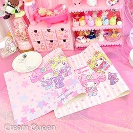 2019 großhandel runde tischdecken Cartoon Weiche PU Tischdecke My Melody Sailor Moon Gedruckt Tischdecke Wasserdichte Tischset Geburtstagsfeier Dekorationen Kinder Geschenke