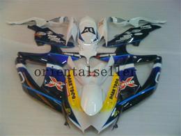 novo para a Suzuki GSXR 600 750 GSX R750 R600 GSXR600 08 09 10 GSXR750 GSXR600 K8 GSXR750 2008 2009 2010 azul preto Fairing kit AA01 de Fornecedores de ninja zx6r para venda