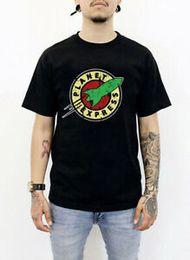 Vêtements express occasionnels en Ligne-VÊTEMENTS HYPEBEAST T-shirt décontracté Planet Express Nasa Hypebeast FAVORI
