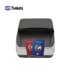 Scanner nfc on-line-Englis Passaporte Reader Com o SDK OCR Scanner RFID Passbook ID Card Reading POS eletrônico ID Banco Aeroporto Visible Hotel NFC Imagem NFC digitalização