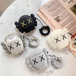 2019 coperture wireless Luxury fashion brand Kaws XX Custodia auricolare Bluetooth senza fili del silicone per Apple AirPods Custodia Case carino sexy Casi Auricolare cover coperture wireless economici