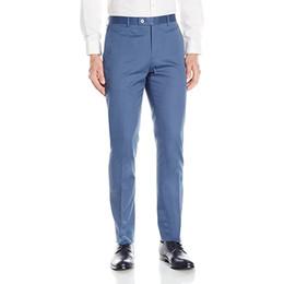 Custom Made Hommes Costume Pantalon Blazer Dress Gris Hommes Front plat Slim Fit Coton Ourlet Costume Séparer Pantalon Costume Pantalon ? partir de fabricateur