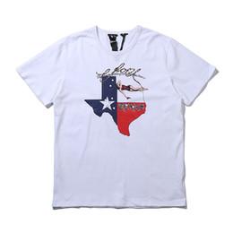 Vlone Mens Designer T Shirt Vlone Life Hombres Mujeres Camiseta de Alta Calidad Negro Blanco T Shirt Camisetas Tamaño S-XL desde fabricantes