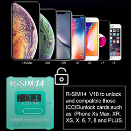 reparação de dongle Desconto R-SIM 14 V18 R SIM14 RSIM14 R SIM 14 RSIM 14 Cartão de desbloqueio para iPhone XS Max IOS12 iccid SIM de desbloqueio R-SIM14