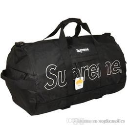 sacos do gym da mulher da forma Desconto 18fw Supre 3 M Reflexivo Ginásio saco de Escola de moda de Rua sacos de duffle homens mulheres esporte mochilas de viagem sacos ao ar livre