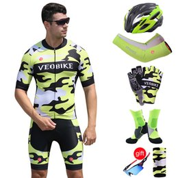 Canada 2019 Jersey Pro Cycling Team Set Men été à manches courtes Vêtements cycliste VTT Vélo Équitation Costume Cycle Vêtements Racing SportsWear Offre