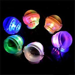 Подводный свет онлайн-6 цветов 1 Вт Аквариум подводный светодиодный свет круглый шар форма погружной Spont свет Освещение украшения AC220-240V