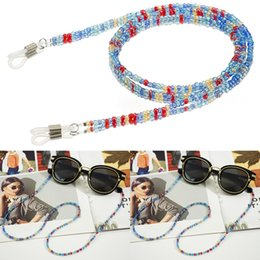 wholesale reading sunglasses Coupons - Colorful Acrylic Beads Chain Sunglasses Chains Women Reading Glasses Cord Holder Neck Strap Rope for Eyewear Accessories