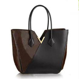 2019 wasserdichte unterwäsche 2019 heiße Verkaufsart und weisebeutelqualität lederne nähende Handtasche Weibliche Einkaufstasche