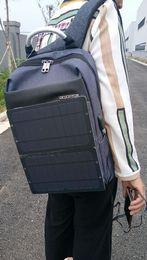 Solare stoffe online-10w Monozelle Sonnenenergie Fenster Powerbank Batterie Stromkreis Sonnenkollektor Tasche