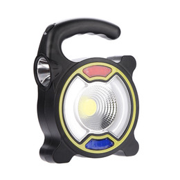 luce di avvertimento della torcia elettrica Sconti Lanterna a energia solare Lampada da campeggio esterna a LED Lampada per tenda di emergenza Luci di carica USB Torcia multifunzionale 12 6hh O1