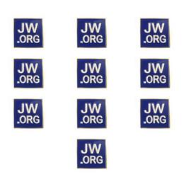 """Bettercraft 100PCS JW.ORG Témoin de Jéhovah - Épinglette Carrée Dorée - 1 """"Épinglette Carrée Bleue - JW.org Clip Cravate Chapeau Clip pour Femmes ? partir de fabricateur"""