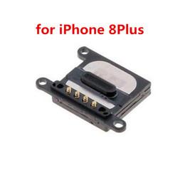 2019 reemplazo del auricular iphone 10 UNIDS 100% Nuevo Auricular Auricular Receptor Cable Flex para iPhone 8 8 Plus Repuesto Reparación de Piezas rebajas reemplazo del auricular iphone