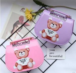 2019 diseñador de alta calidad bolsos amarillos Bolsas para bebés Diseñador Kids Jelly Messenger Bag Elegante Baby Girl Bolso de hombro Bolso para niñas pequeñas Mini bolsa de color caramelo 4 colores