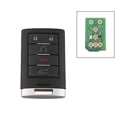 Cadillac srx online-5Buttons Keyless Entry Remote Car Security Fob para 2010-2015 Cadillac SRX NBG009768T