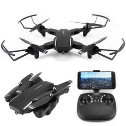 Вертолетные батареи онлайн-3 Battery WIFI FPV RC Drone With Wide Angle HD 720P Camera High Hold Mode Foldable Arm RC Quadcopter Helicopter Gifts for Boys
