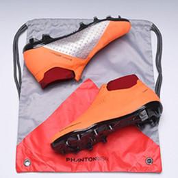 Botas de fútbol de tobillo para hombre altas EA Sports Phantom VSN Elite DF FG Zapatillas de fútbol X JD PSG Phantom Vision FG Tacos de fútbol para exteriores desde fabricantes
