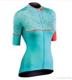 Camiseta de ciclismo rosa equipo femenino online-2019 mujeres de ciclo Jersey de la bici camisetas de la ropa del equipo MTB ropa ciclismo bicicleta jersey rosa bicicleta camisetas de manga corta transpirable
