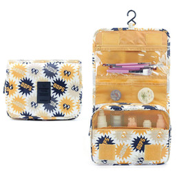 beauty bedding Coupons - Waterproof Hanging Toiletry Storage Bag Multifunction Women Travel Storage Beauty Makeup Tools Organizer Cosmetic Bag