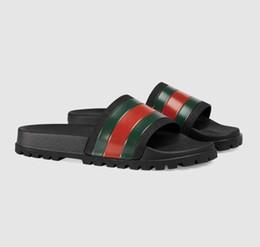 2019 корейская плоская обувь 2019 лучшее качество бренд мода mensstriped сандалии причинно нескользящие лето huaraches тапочки вьетнамки тапочки 38-46